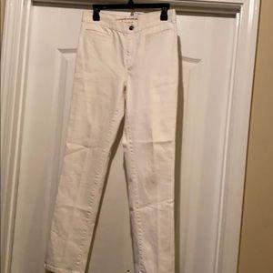 White Polo jeans.